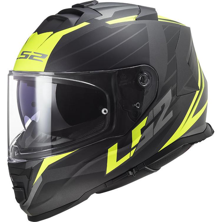 LS2 FF800 Storm Nerve Motorcycle Helmet