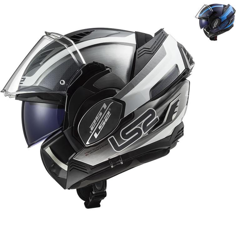 LS2 FF900 Valiant 2 Orbit Flip Front Motorcycle Helmet
