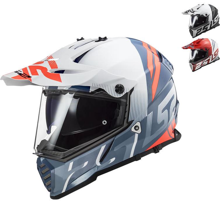LS2 MX436 Pioneer Evo Evolve Dual Sport Motorcycle Helmet