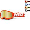 100% Strata 2 Mirror Youth Motocross Goggles Thumbnail 2