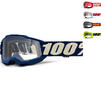 100% Accuri 2 Clear Youth Motocross Goggles Thumbnail 1