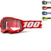 100% Accuri 2 OTG Clear Motocross Goggles Thumbnail 2