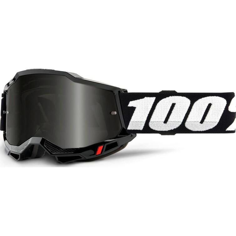 100% Accuri 2 Sand Dark Smoke Motocross Goggles