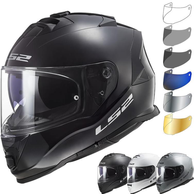 LS2 FF800 Storm Solid Motorcycle Helmet & Visor