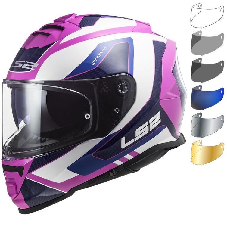 LS2 FF800 Storm Techy Motorcycle Helmet & Visor