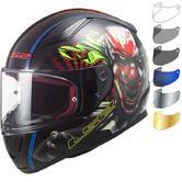 LS2 FF353 Rapid Happy Dreams Motorcycle Helmet & FREE Visor
