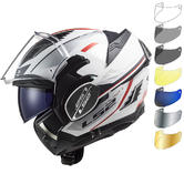 LS2 FF900 Valiant 2 Hub Flip Front Motorcycle Helmet & Visor