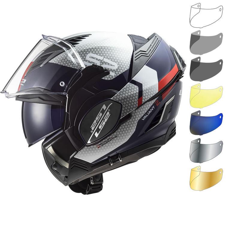 LS2 FF900 Valiant 2 Citius Flip Front Motorcycle Helmet & Visor