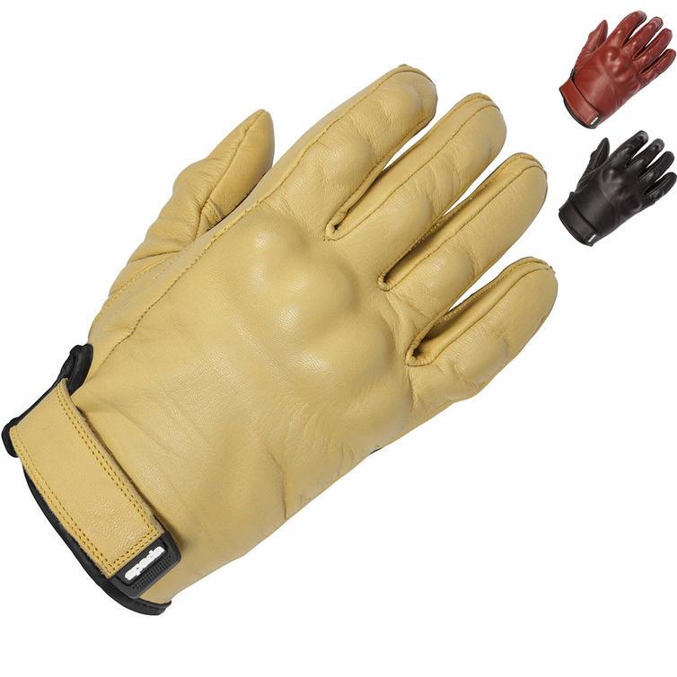 Spada Wyatt CE Leather Motorcycle Gloves