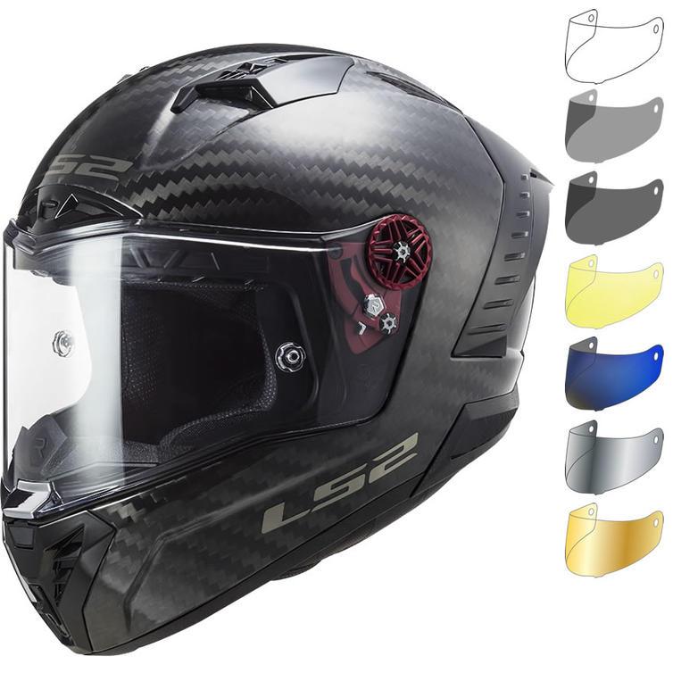 LS2 FF805 Thunder C Solid FIM Motorcycle Helmet & Visor