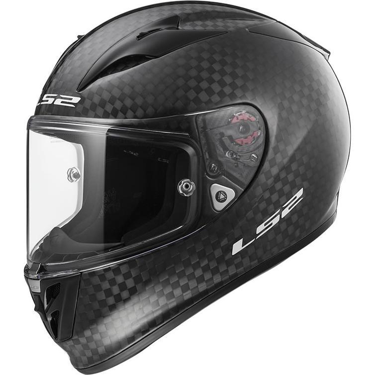 LS2 F323 Arrow C Solid FIM Motorcycle Helmet
