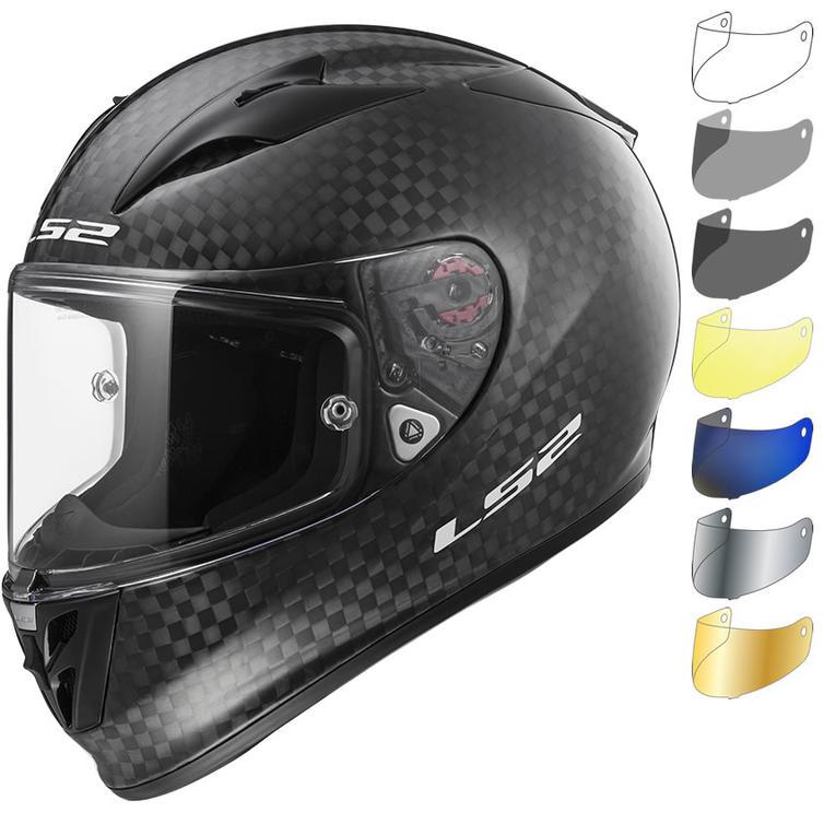 LS2 FF323 Arrow C Evo Solid FIM Motorcycle Helmet & Visor