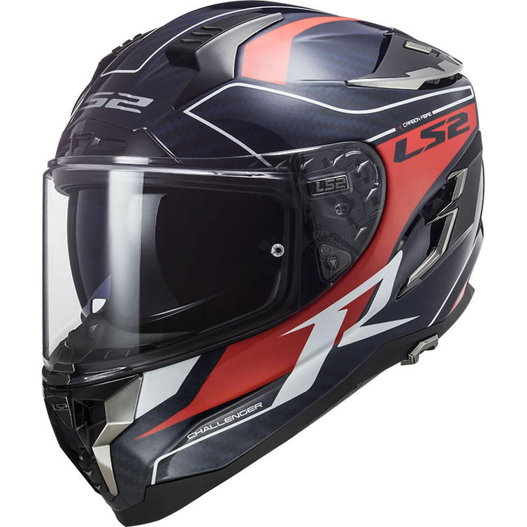 LS2 FF327 Challenger C Grid Motorcycle Helmet