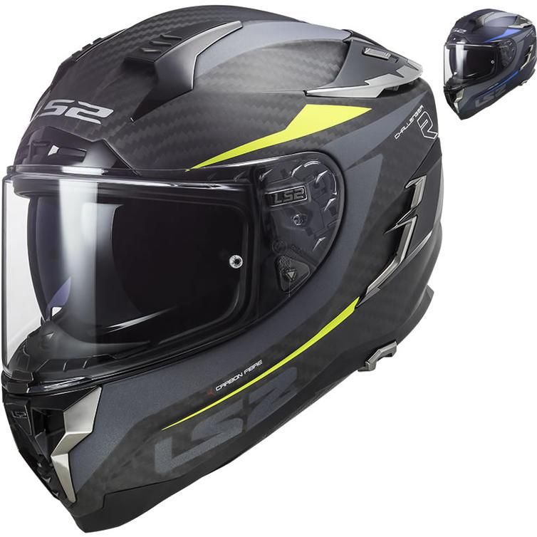 LS2 FF327 Challenger C Drone Motorcycle Helmet