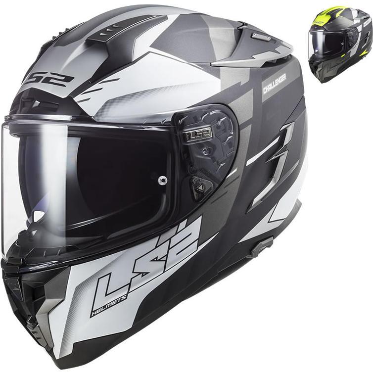 LS2 FF327 Challenger Allert Motorcycle Helmet