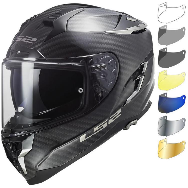 LS2 FF327 Challenger C Solid Motorcycle Helmet & Visor