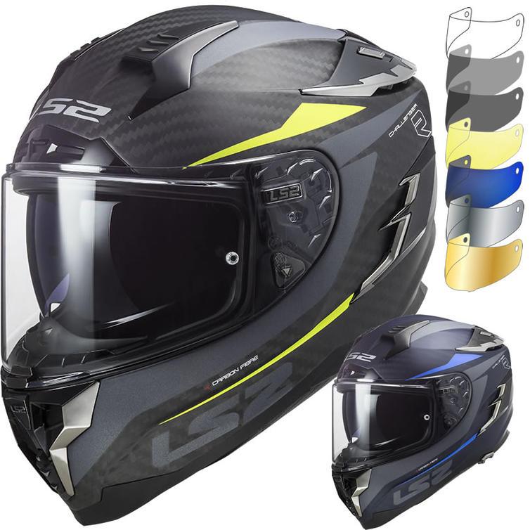 LS2 FF327 Challenger C Drone Motorcycle Helmet & Visor