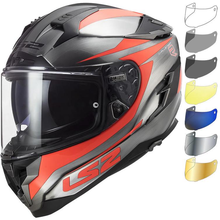 LS2 FF327 Challenger Cannon Motorcycle Helmet & Visor
