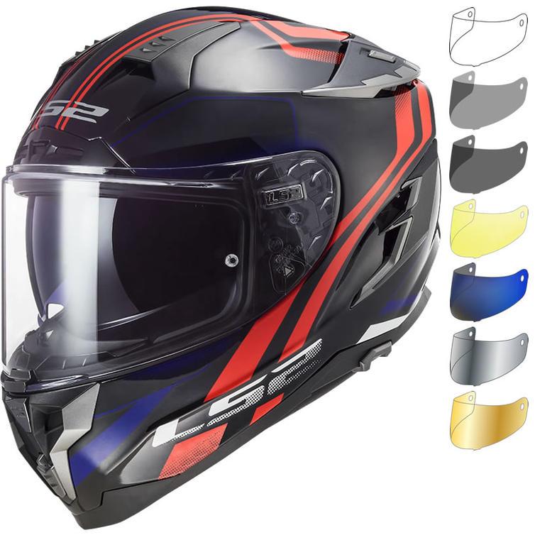 LS2 FF327 Challenger Propeller Motorcycle Helmet & Visor
