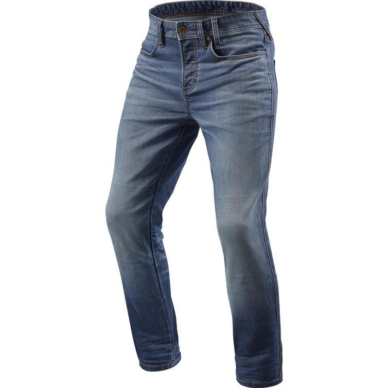 Rev It Piston Skinny Fit Medium Blue Used Motorcycle Jeans