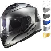LS2 FF800 Storm Jeans Motorcycle Helmet & Visor