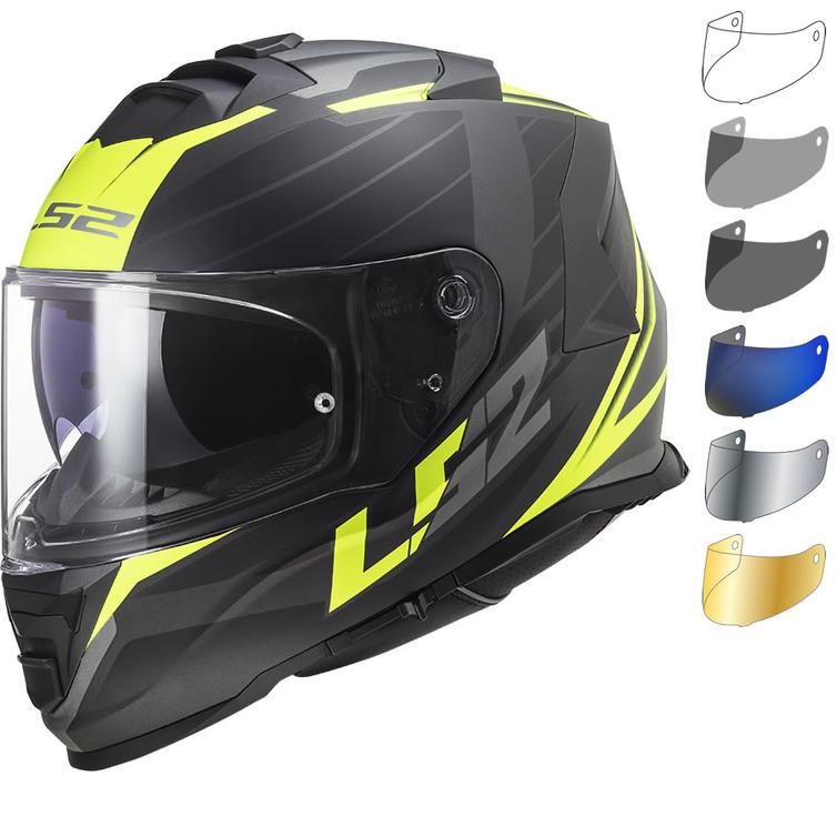LS2 FF800 Storm Nerve Motorcycle Helmet & Visor