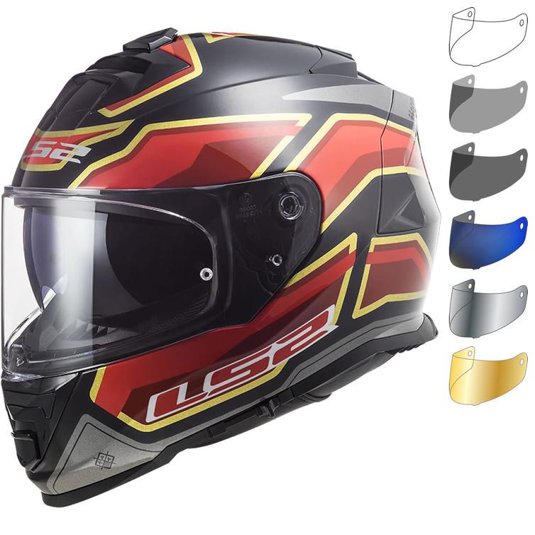 LS2 FF800 Storm Foggy Motorcycle Helmet & Visor