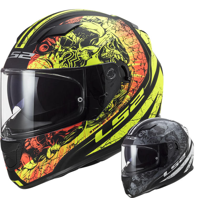 LS2 FF320 Stream Evo Throne Motorcycle Helmet