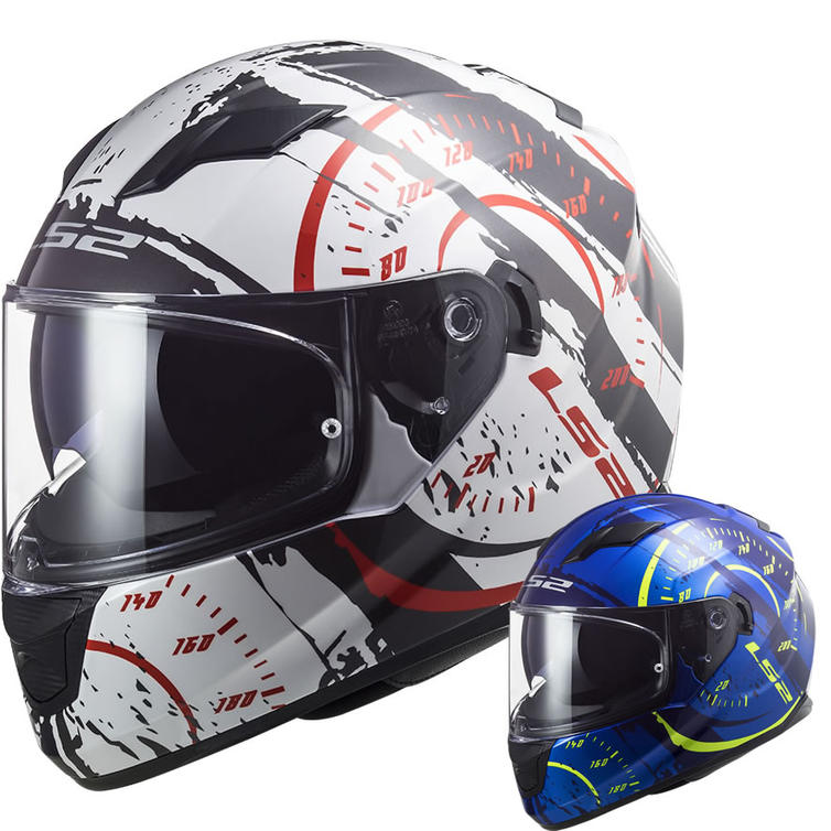 LS2 FF320 Stream Evo Tacho Motorcycle Helmet