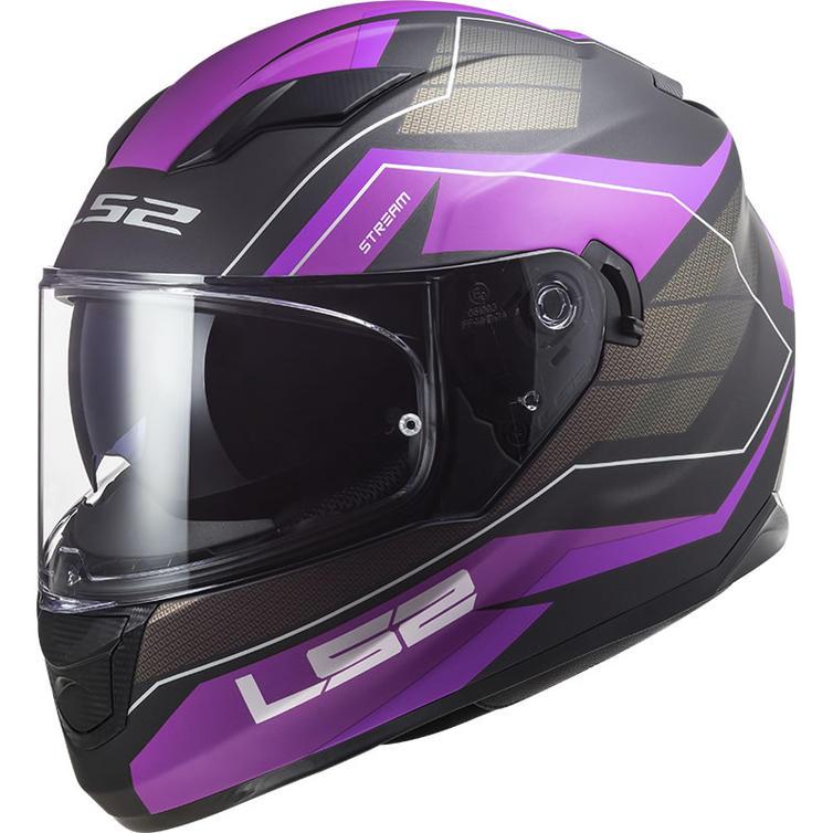 LS2 FF320 Stream Evo Mercury Motorcycle Helmet