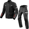 Rev It Sand 4 H2O Motorcycle Jacket & Trousers Black Kit Thumbnail 1