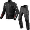 Rev It Sand 4 H2O Motorcycle Jacket & Trousers Black Kit Thumbnail 2