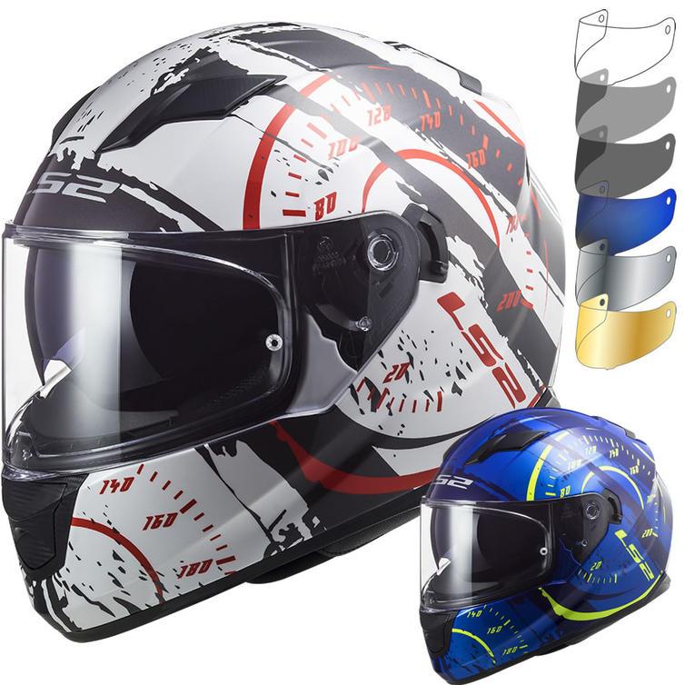 LS2 FF320 Stream Evo Tacho Motorcycle Helmet & Visor