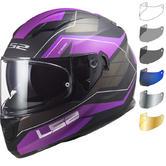 LS2 FF320 Stream Evo Mercury Motorcycle Helmet & Visor