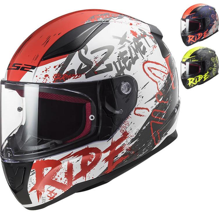 LS2 FF353 Rapid Naughty Motorcycle Helmet