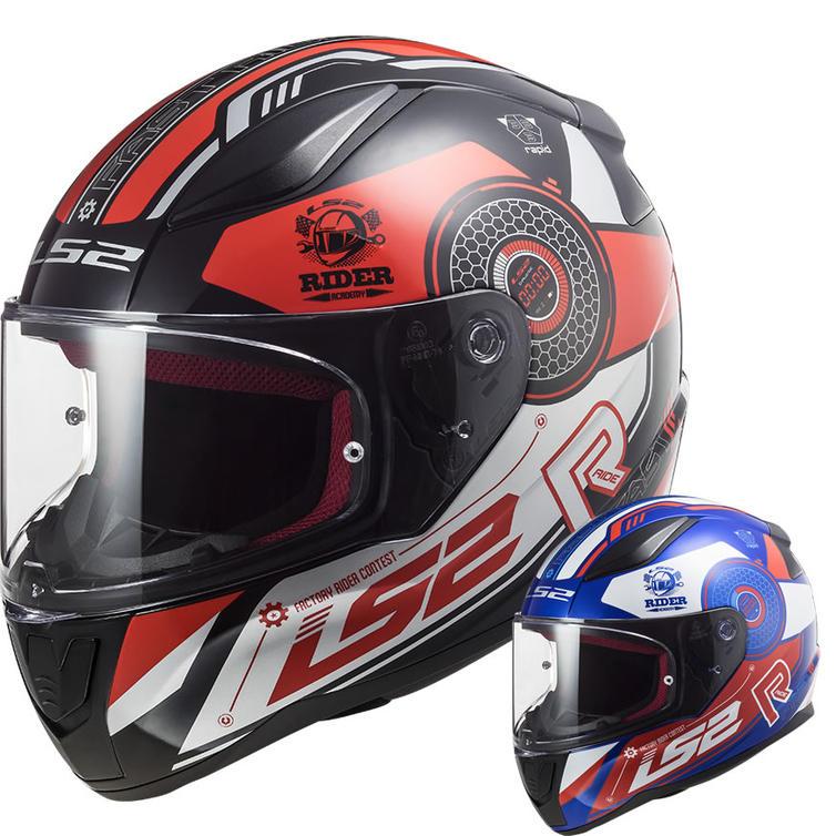 LS2 FF353 Rapid Stratus Motorcycle Helmet