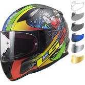 LS2 FF353 Rapid Feisty Motorcycle Helmet & Visor