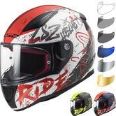 LS2 FF353 Rapid Naughty Motorcycle Helmet & Visor