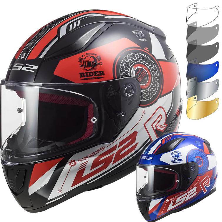 LS2 FF353 Rapid Stratus Motorcycle Helmet & Visor