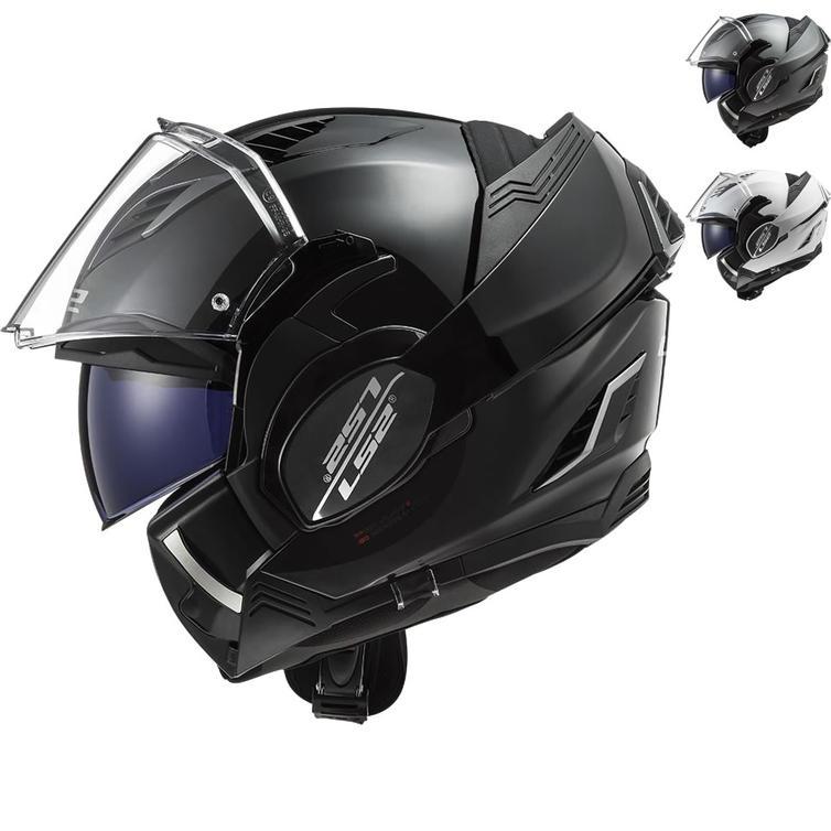 LS2 FF900 Valiant 2 Solid Flip Front Motorcycle Helmet