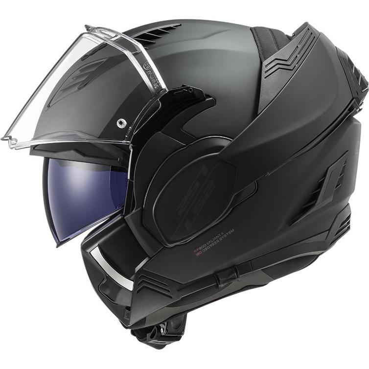 LS2 FF900 Valiant 2 Noir Flip Front Motorcycle Helmet