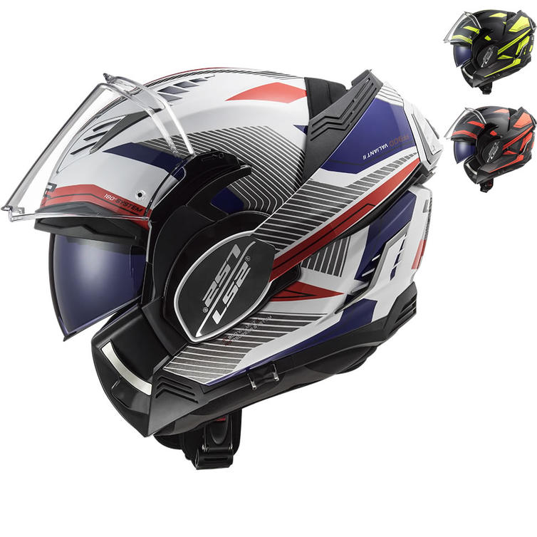 LS2 FF900 Valiant 2 Revo Flip Front Motorcycle Helmet