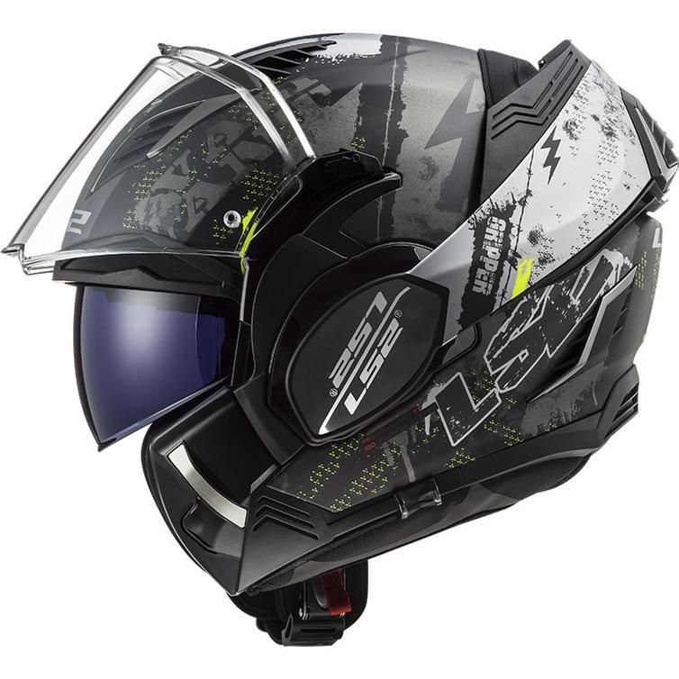LS2 FF900 Valiant 2 Gripper Flip Front Motorcycle Helmet