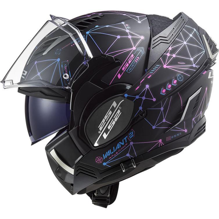 LS2 FF900 Valiant 2 Stellar Flip Front Motorcycle Helmet