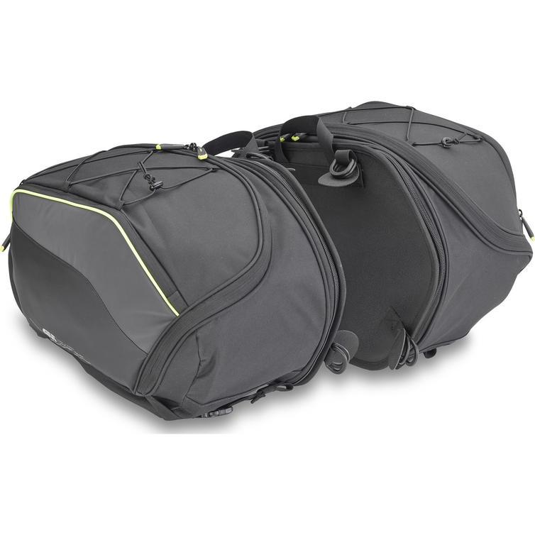 Givi Easy-T Range Expandable Side Bags 30L Black (Pair) (EA127)