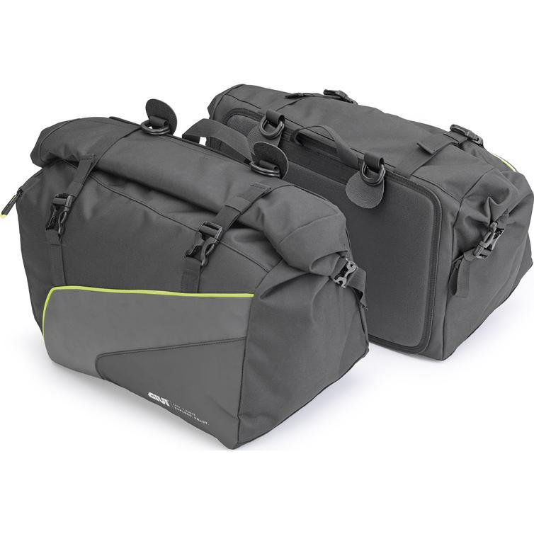 Givi Easy-T Range Waterproof Side Bags 25L Black (Pair) (EA133)