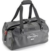 Givi Gravel-T Range Canyon Water Resistant Roll Top Cargo Bag 40L Black (GRT712B)