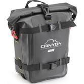 Givi Gravel-T Range Canyon Water Resistant Cargo Bag 8L Black (GRT722)