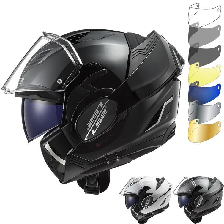 LS2 FF900 Valiant 2 Solid Flip Front Motorcycle Helmet & Visor