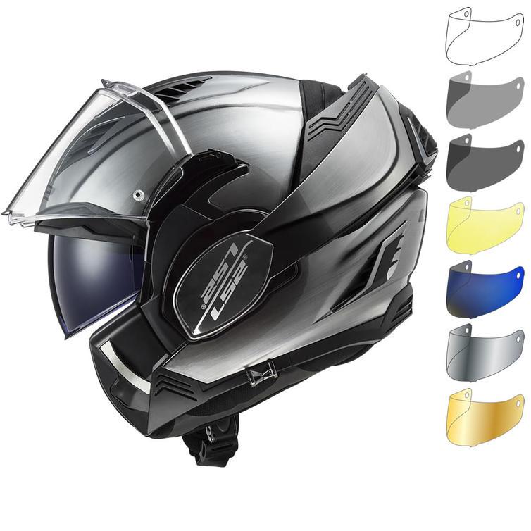LS2 FF900 Valiant 2 Jean Flip Front Motorcycle Helmet & Visor